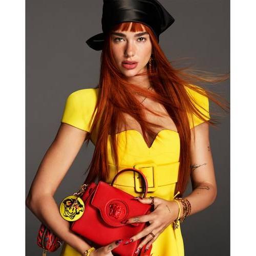 Дуа Липа стала новым лицом Versace